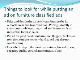 selling used furniture with classified ads 4 638 cb=