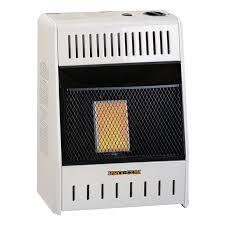 ventless natural gas single plaque wall heater 6 000 btu