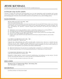 Professional Summary Resume Sample – Lifespanlearn.info