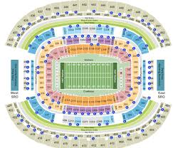 Cowboys Stadium Chart At T Stadium Tickets With No Fees At Ticket Club
