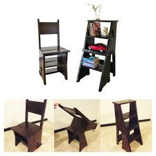 hogyan építsünk egy hajtogatott library chair létra szék