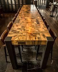 tree stump dining table