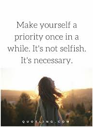 Love Yourself Quotes Classy Love Yourself Quotes Make Yourself A Priority Once In A While It's