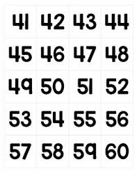 Replacement Numbers For Counting Days In School Pocket Chart Cards