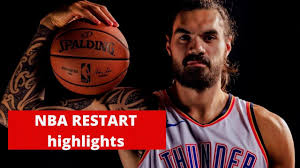 Steven Adams NBA Restart highlights ...