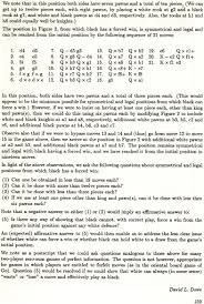 Q And A Game David Dowes Chess Games And Game Theory Page