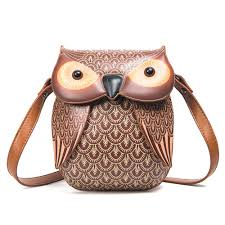 detail feedback questions about animal cute cross bags mini women shoulder messenger bag cartoon leather owl bags creative pu purse girls handbag unique