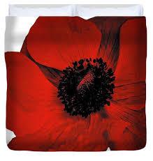 red poppy duvet cover designer fl duvet cover bedroom decor home decor bedding flower comforter cover queen king full twin boho design