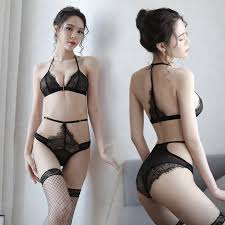 Asian babes in lingerie