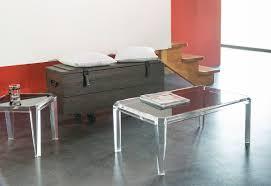 Table Basse En Plexiglas Transparente Table Basse Transparente