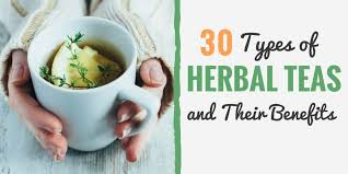 30 Types Of Herbal Teas And Their Amazing Health Benefits