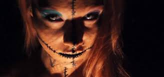 diy voodoo doll costume makeup