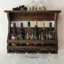 wooden wine rack wall mounted wine rack handmade rustic home decor wall mount wine rack wedding gift wine crate