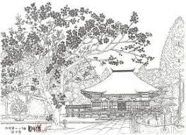 四国八十八ヶ寺の大人の塗り絵