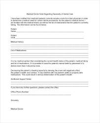 Where Can I Get A Doctors Note 8 Doctor Note Examples Samples Examples
