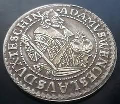 1609 TALER SCHLESIEN Teschen Thaler-Adam Wenzel - EUR 8,80 | PicClick DE