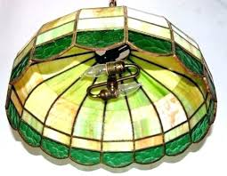 vintage hanging light fixtures antique stained glass lamps vintage hanging lamp light fixture lighting rewired old