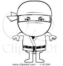 ninja clipart black and white. Beautiful And Ninja Clip Art Intended Clipart Black And White L