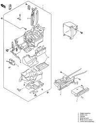 repair guides heater core removal & installation autozone com 1998 Suzuki Sidekick Crate Motor at 1998 Suzuki Sidekick Engine Comp Fuse Box