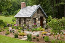 Amazing Cottage Garden Photos England Small Stone Cottage In New Hampshire .