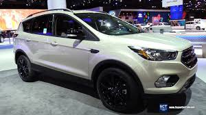 2018 ford escape interior. beautiful 2018 2018 ford escape titanium  exterior and interior walkaround 2017 new  york auto show in ford escape interior p