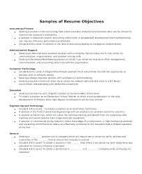 Resume Sample For Accountant Position Accounting Resumes Objectives Resume Objective Sample Accounting Job