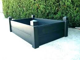composite raised garden bed. Contemporary Bed Composite Raised Garden Bed Plastic Beds Liner Under With G