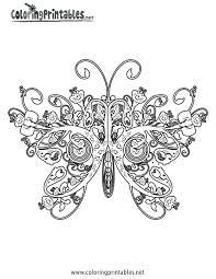 Butterfly Coloring Page Vlinders Kleurplaten Kleuren En