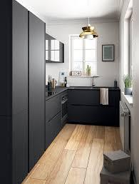 Mod Les De Cuisines Kitchens Matte Black And Interiors