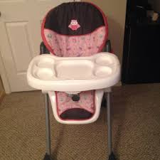3 Reasons Members Are Addicted Find more Baby Trend Pink Owl High Chair for sale at up to 90% off