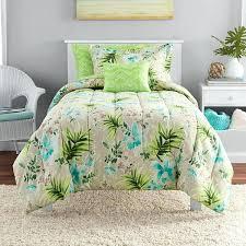 tropical twin comforter sets tropical twin bedding 6 piece neutral lush aqua green tropical comforter twin