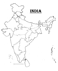 Map Of India To Color Download Them And Print