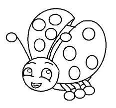 Lady Bug Coloring Sheet Bug Coloring Sheet Studens Info