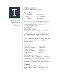 Resume Templates For Word 2007 Magnificent Resume Templates For Word 44 Download Cassifieldsco