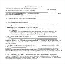 Lease Rent Agreement Format Gorgeous Room Rental Agreement Template Word Klonowskico