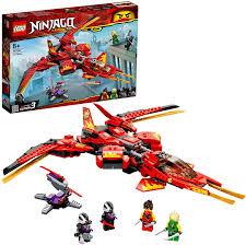 LEGO 71704 NINJAGO Legacy Kais Super-Jet Spielset mit Nindroid-Jäger  Actionfiguren: Amazon.de: Spielzeug