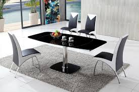 dining table and chairs glass dining table modenza furniture pertaining to contemporary glass dining tables and