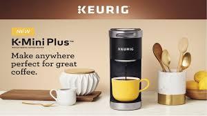 keurig k mini plus single serve k cup pod coffee maker bed bath beyond