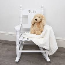 personalised child s rocking chair toys games