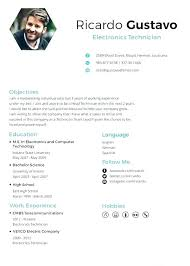 Cv Template English German Style Cv Template In English Free