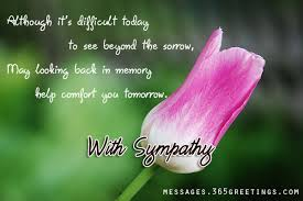Short Condolence Quotes Magnificent Sympathy Messages And Wishes 48greetings
