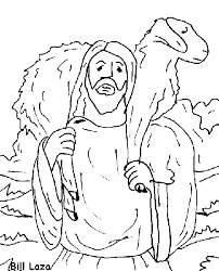 Small Picture Lost Sheep coloring page