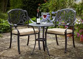small round garden table