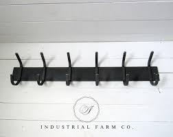 Metal Coat Hook Rack Beauteous Metal Coat Rack Hooks Industrial Farm Co