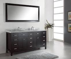 elegant black wooden bathroom cabinet. Amazing Black Wooden Bathroom Vanity Cabinet With Double Undermount Sink For Your Interior Design Along Elegant O