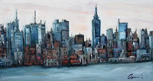 new york painting new york skyline by michael accorsi