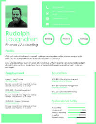 Modern 2020 Resume Modern Resume Templates Finance And Accounting Magdalene