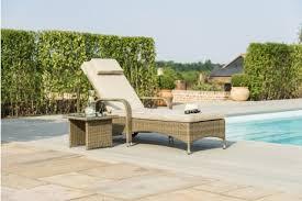 maze rattan tuscany florida sun lounger set