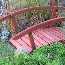 build a small ornamental garden bridge