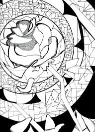 Small Picture Beasts Rose Coloring Page Beauty and The Beast pages of